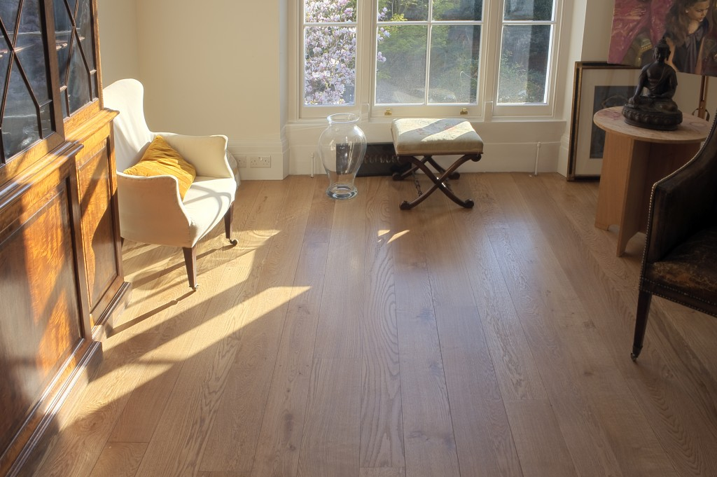 First grade solid English oak flooring