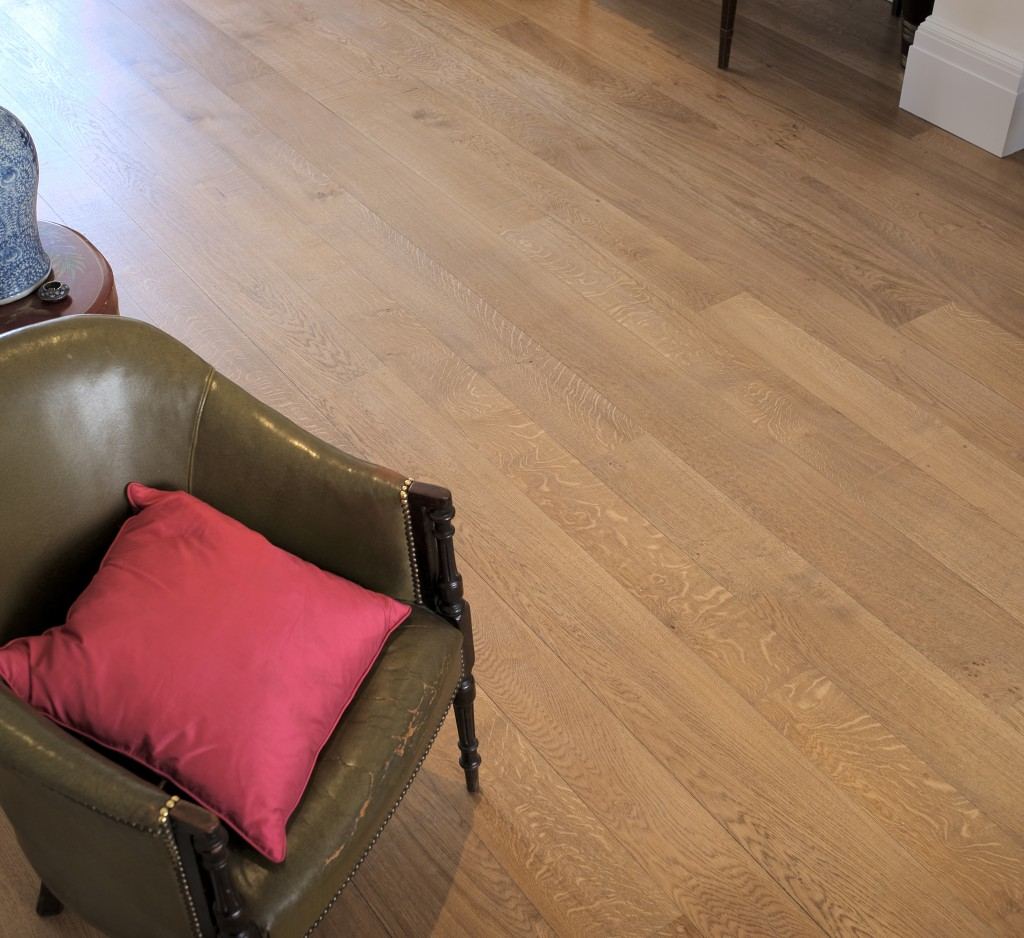 First grade solid English oak flooring 2