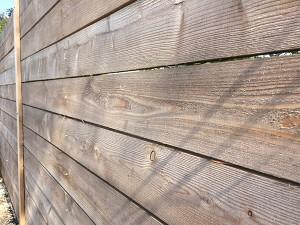 Fresh sawn British larch square edge cladding-01