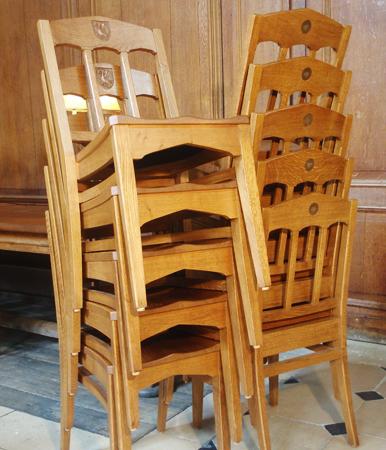Prime English oak furniture