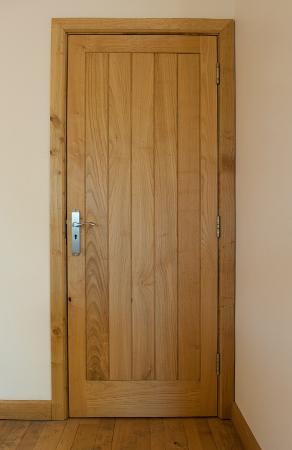 Sweet chestnut internal door