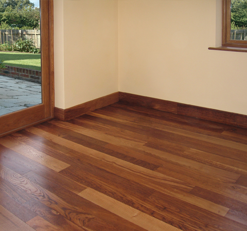 English oak flooring: Tiger brown - Vastern