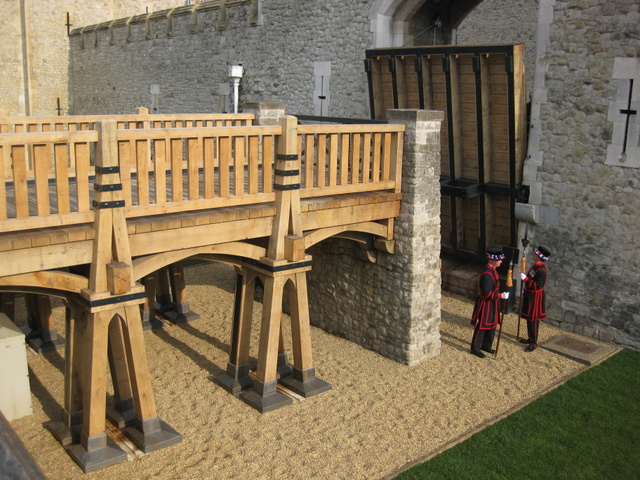 Vastern Timber Tower of London Drawbridge