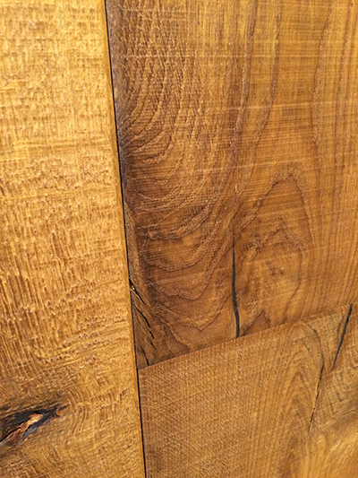 Engineered oak flooring. Heywood. Smoked character
