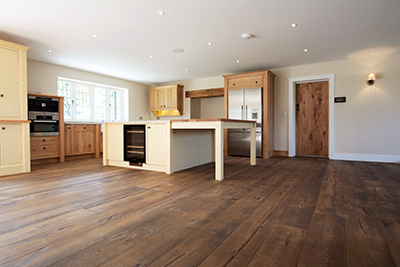 Engineered oak flooring. Heywood. Smoked Antique'
