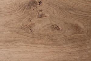 Unfinished engineered oak flooring close up
