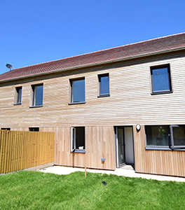 Thermally Modified Poplar Cladding
