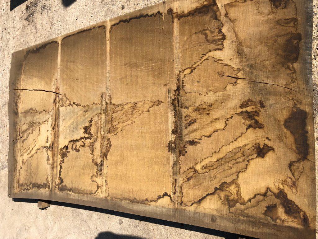 Wide English oak plank 68