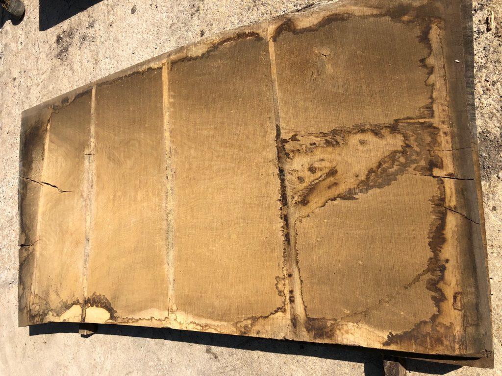 Wide English oak plank 69
