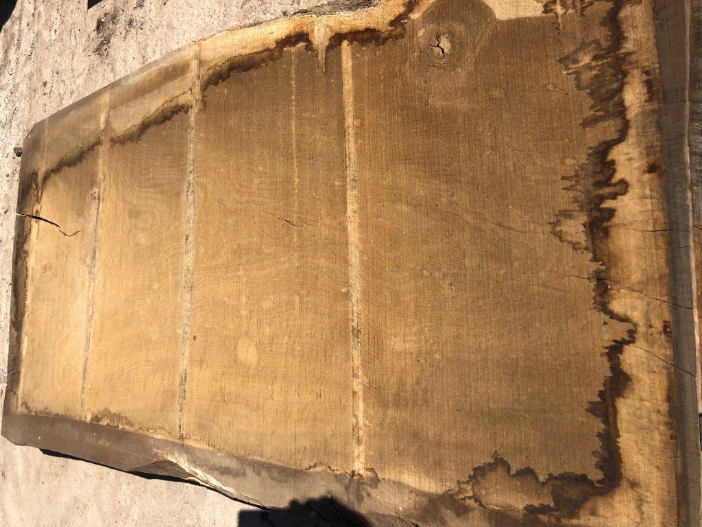 Wide plank of English oak 70