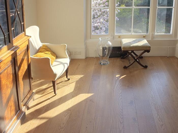 Solid Oak Floor