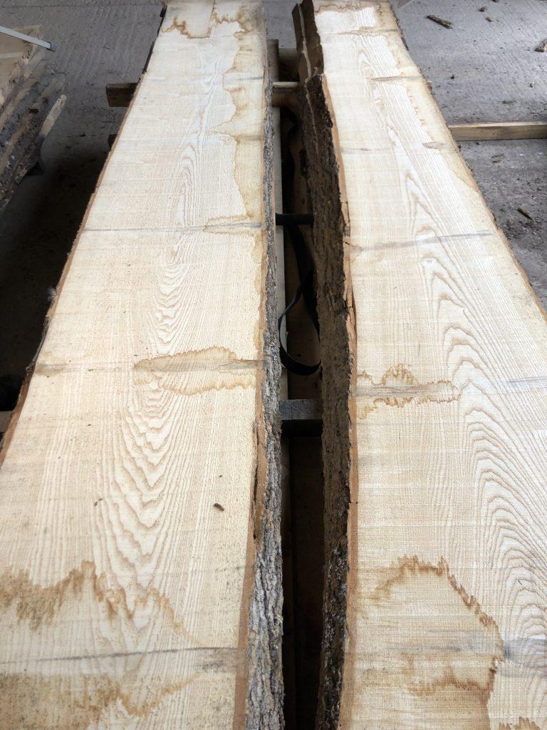 Prime KD English ash log. 40838