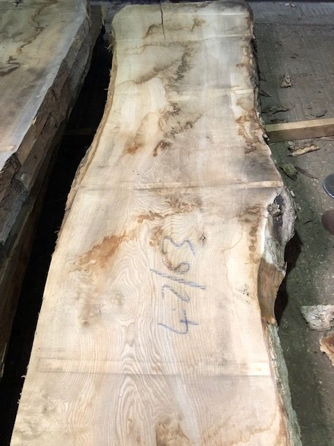 Rustic ash table top planks 40126