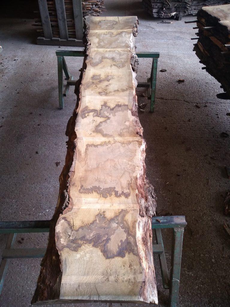 English Pippy Oak Log 00967