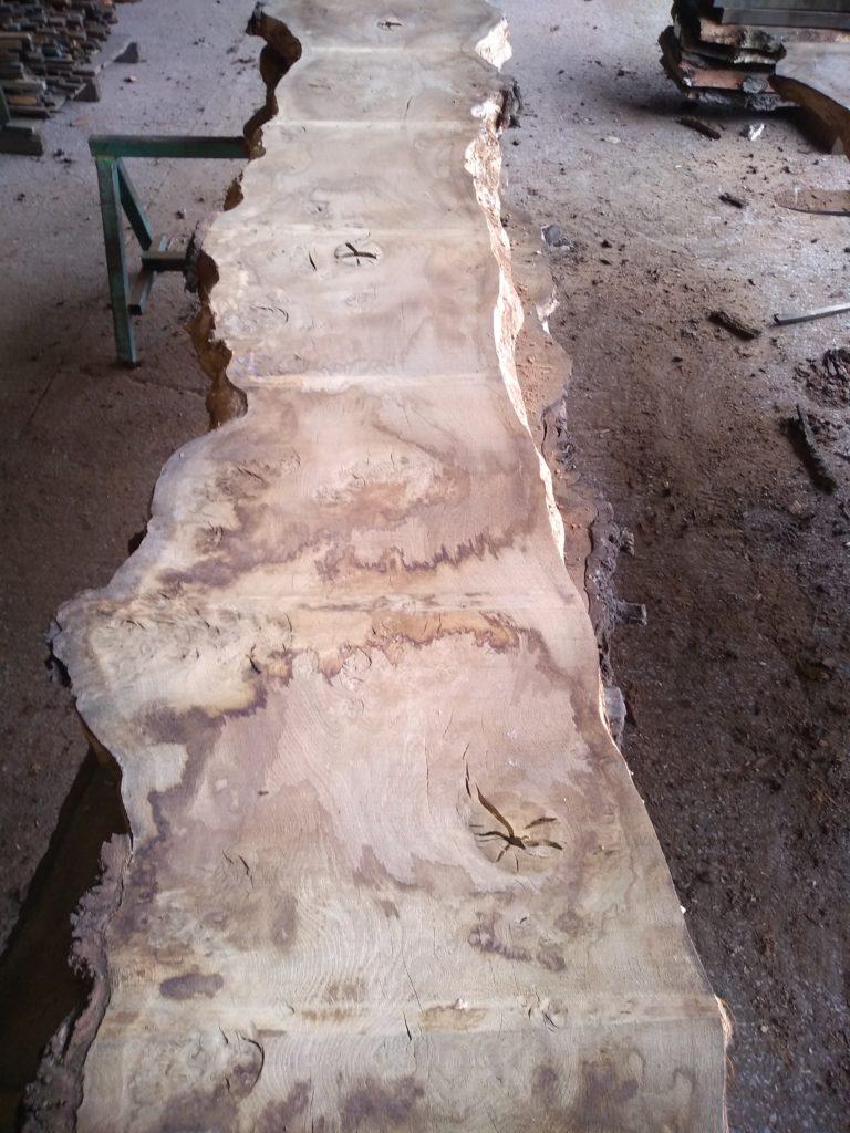 English Pippy Oak Log 00990