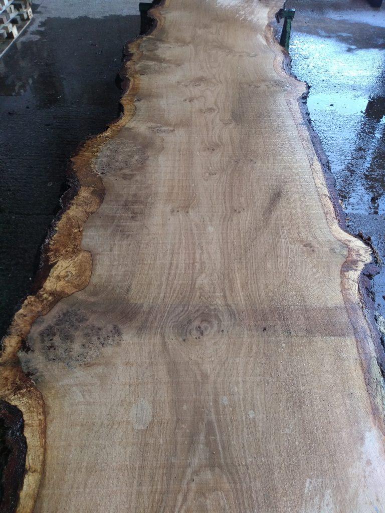 English Pippy Oak Log 00020 Fresh Sawn