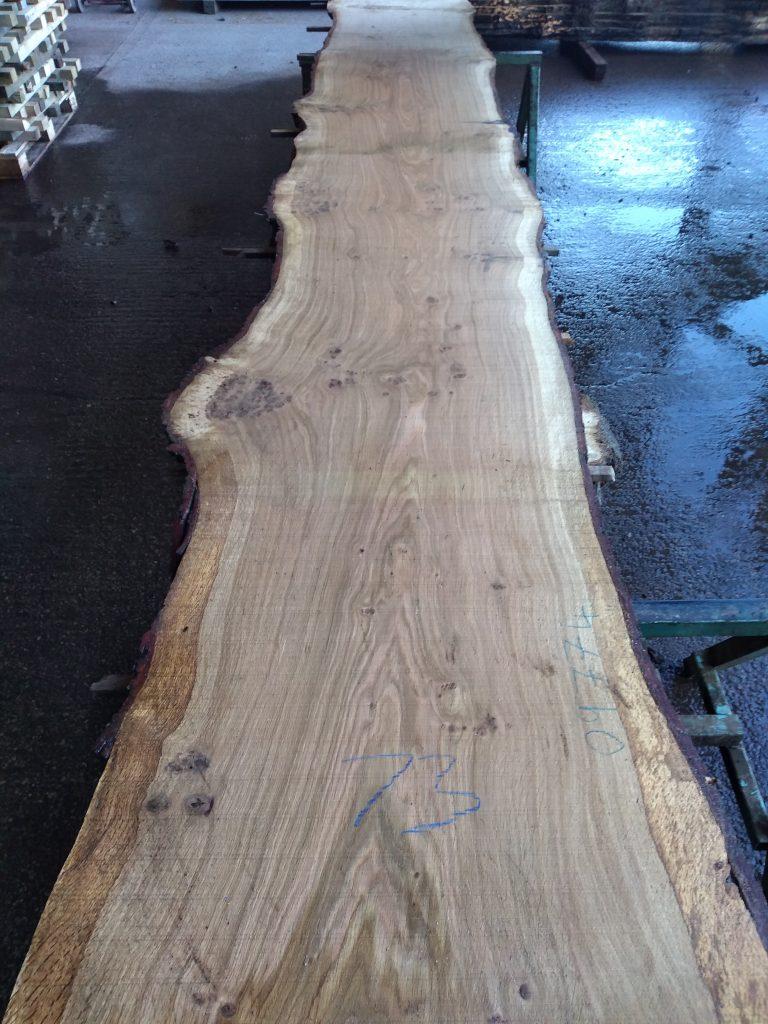 English Pippy Oak Log 00037 Fresh Sawn