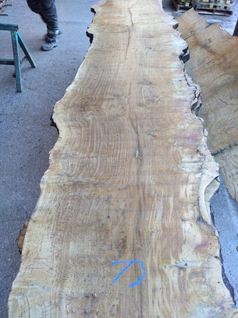 English Pippy Oak Log 3006 Fresh Sawn