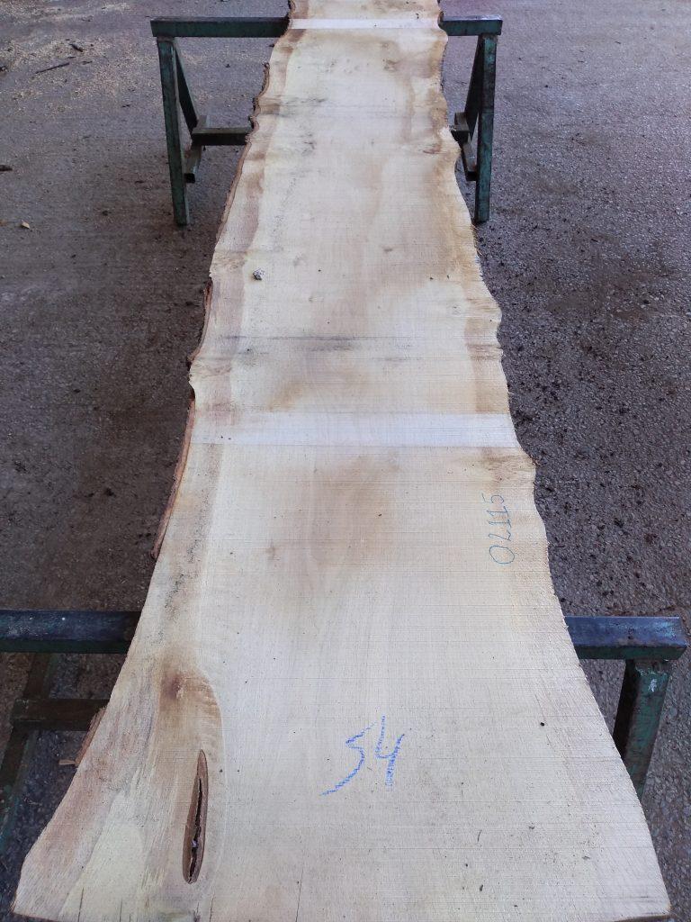 English Pippy Oak Log 3007 Fresh Sawn